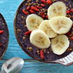 acai berry chia bowl